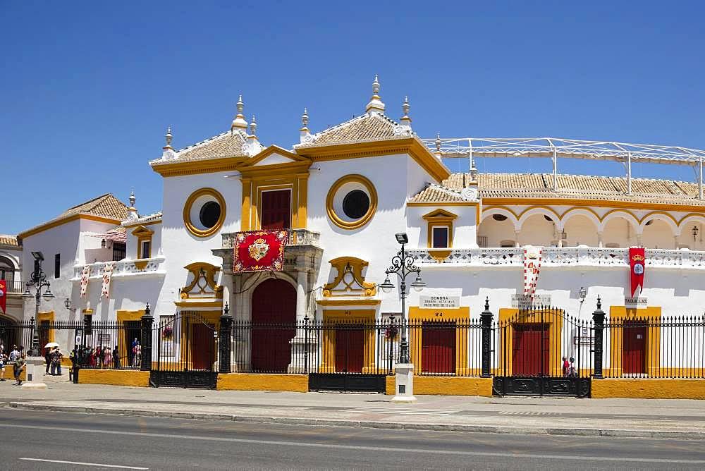 Bullring, La Real Maestranza, Seville, Andalusia, Spain, Europe