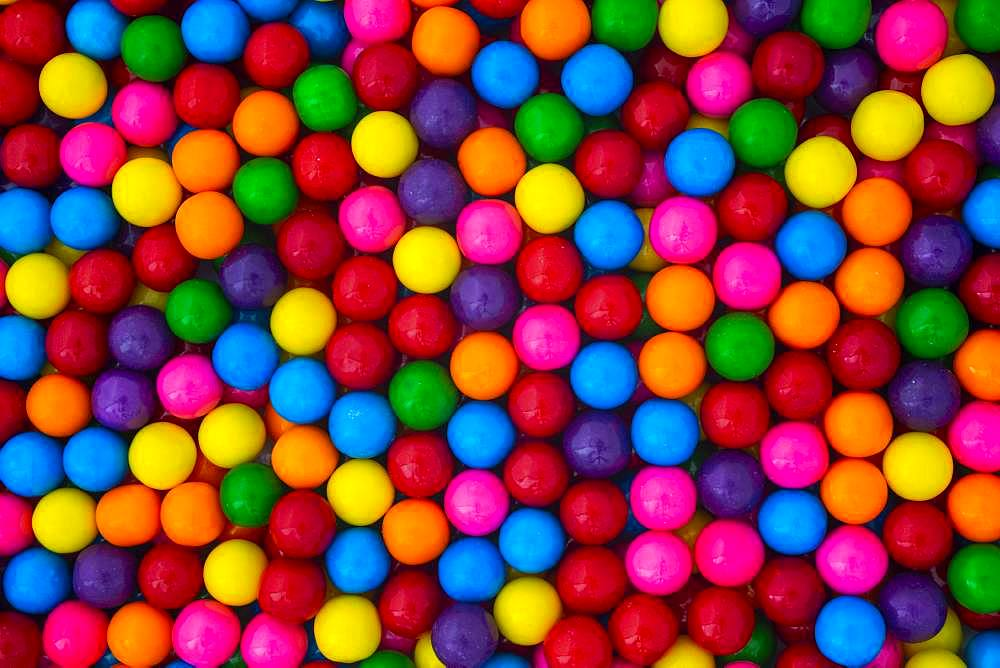 Multi Colored Bubble Gum, candy, Canada, North America