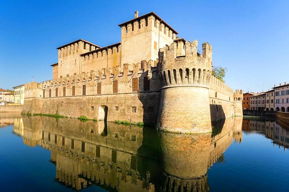 Rocca Sanvitale Castle, Fontanellato, Province of Parma, Emilia-Romagna, Italy, Europe