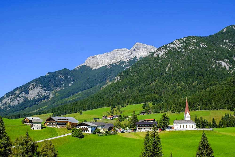 Steinberg am Rofan off Guffert, Tyrol, Austria, Europe