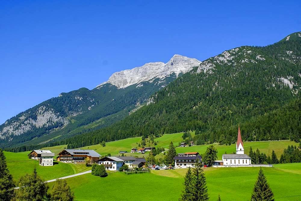Steinberg am Rofan off Guffert, Tyrol, Austria, Europe