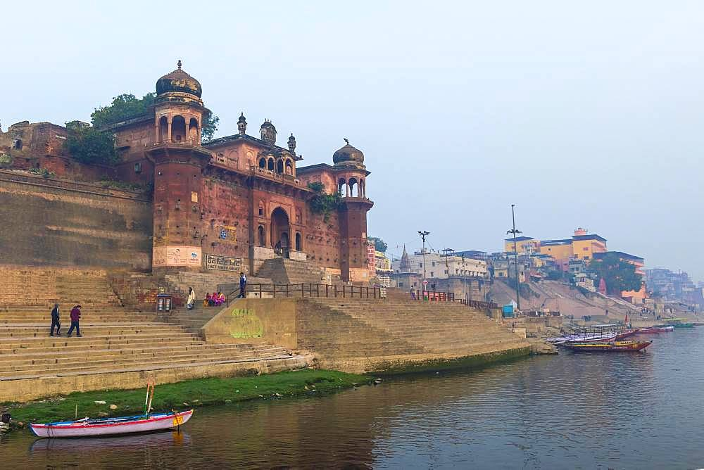 Chet Singh Ghat, Varanasi, Uttar Pradesh, India, Asia