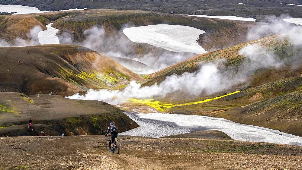 Storihver, Laugavegur trail, Landmannalaugar to Hrafntinnusker, Iceland, Europe