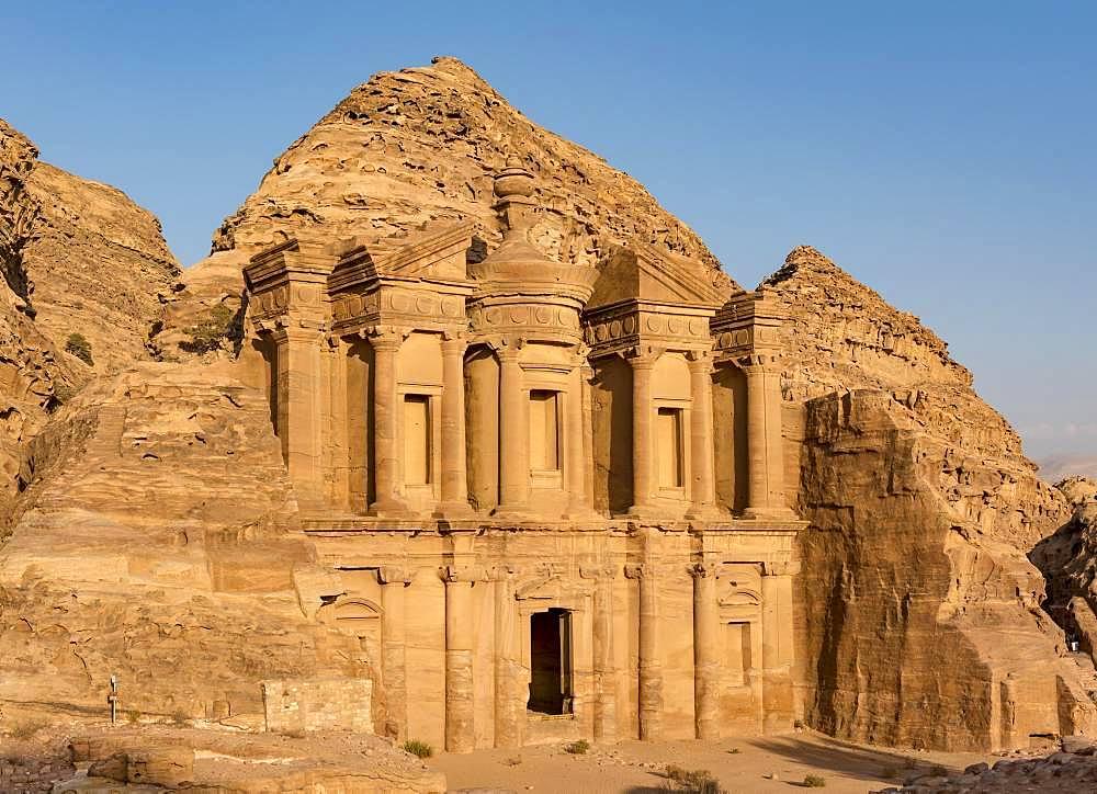 The Monastery, Ad Deir, Petra, Jordan, Asia