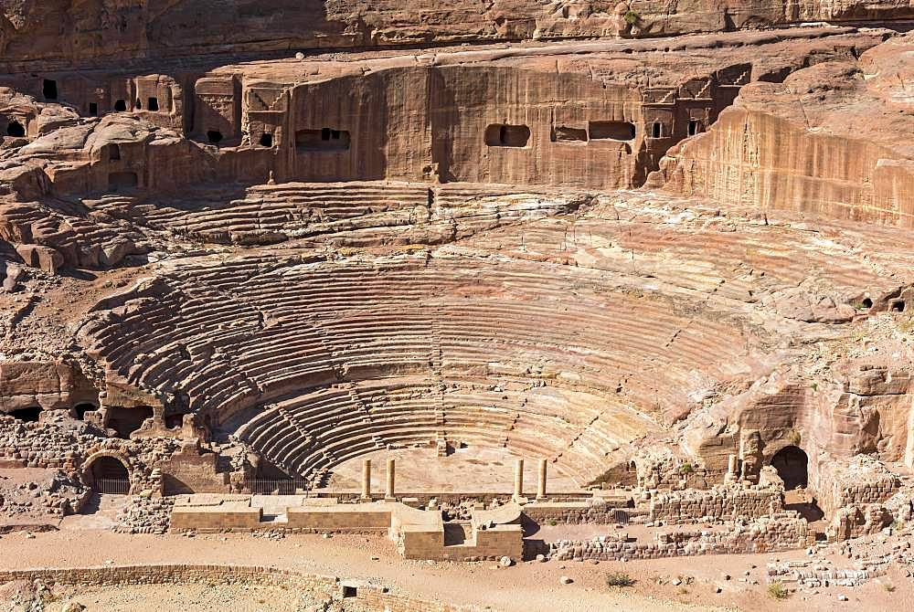 Amphiheatre, Petra, Jordan, Asia