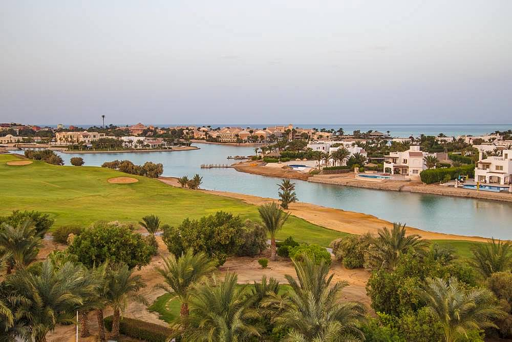 Holiday town El Gouna, near Hurghada, Egypt, Africa
