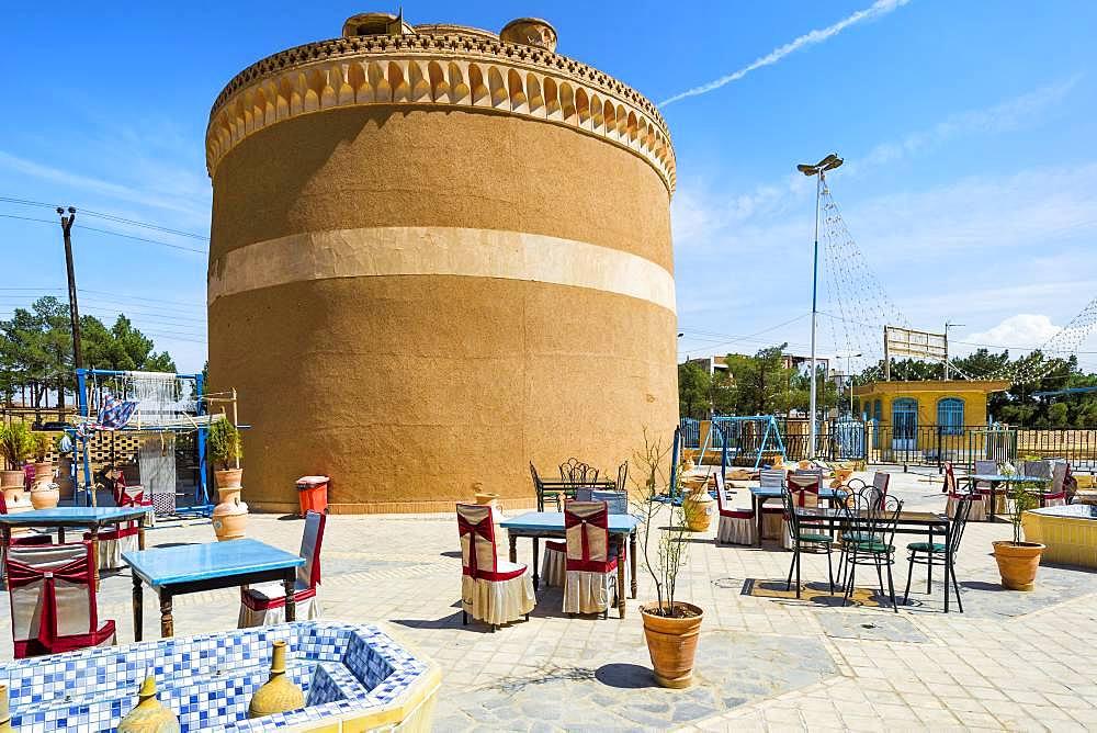 Traditional pigeon tower, Meybod, Yazd Province, Iran, Asia