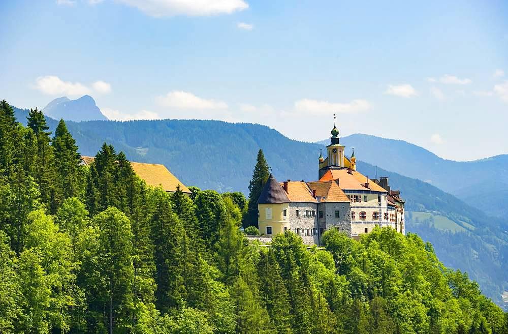 Strechau Castle, Rottenmann, district of Lienz, Styria, Austria, Europe