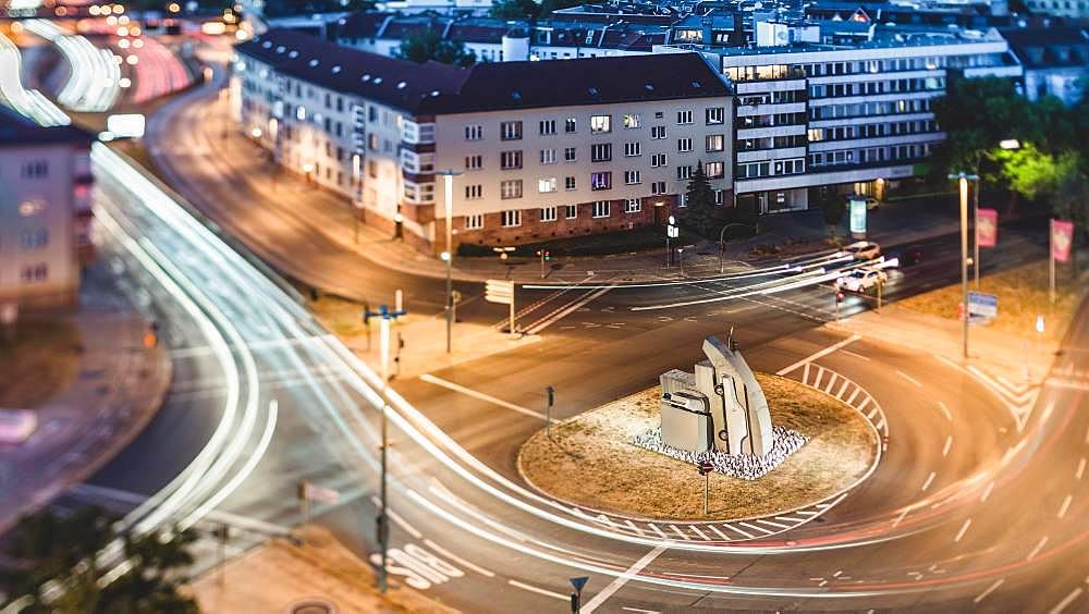 Rathenauplatz on Kurfuerstendamm, Berlin, Germany, Europe