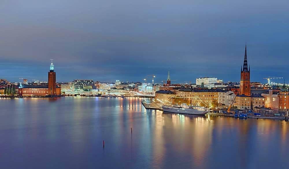 Gamla Stan, night, Stockholm Sweden
