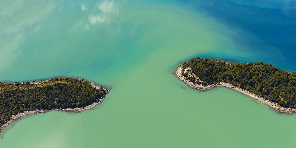 Laguna San Rafael National Park, Aerial view, Aysen Region, Patagonia, Chile, South America