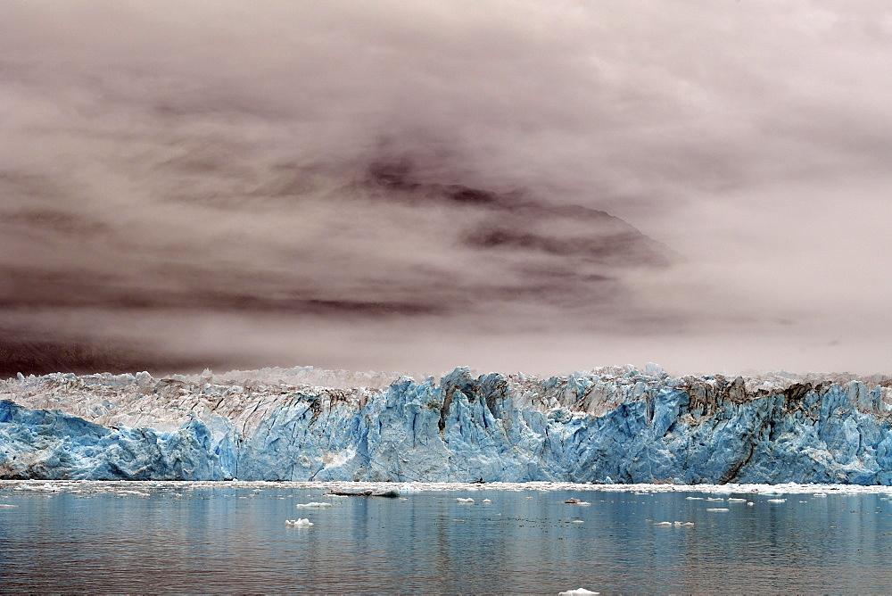 Columbia Glacier, Prince William Sound, Alaska, USA, North America