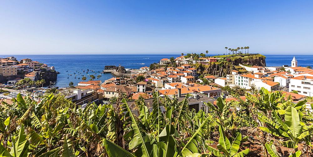 Camara de Lobos, City view, Madeira Island, Portugal, Europe