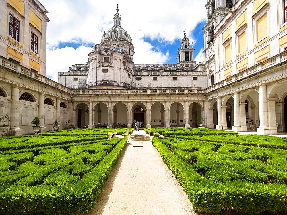 Mafra National Palace, Mafra, Portugal, Europe