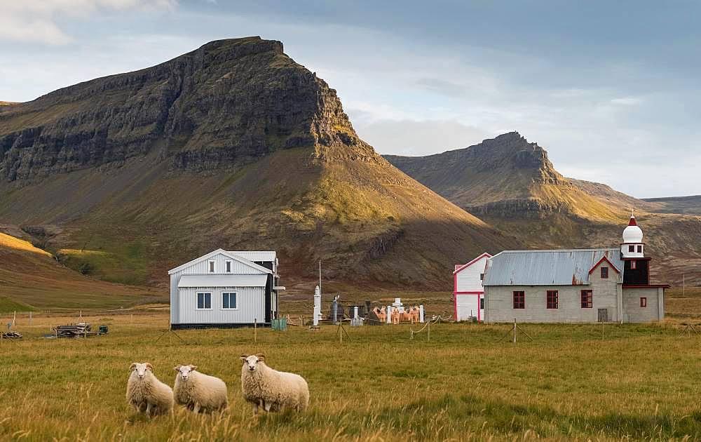 Samuel Jonsson Art Museum, Brautarholt, Seladalur, Arnarfjoerdur or Arnarfjoerour, Westfjords, Northwest Iceland, Iceland, Europe