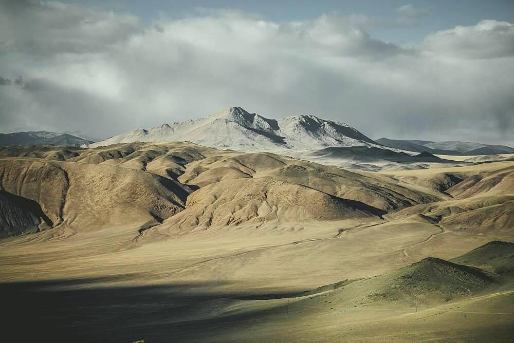 Landscape of Kisil Czar, the Red Mountains, Olgii, Mongolia, Asia - 832-389284
