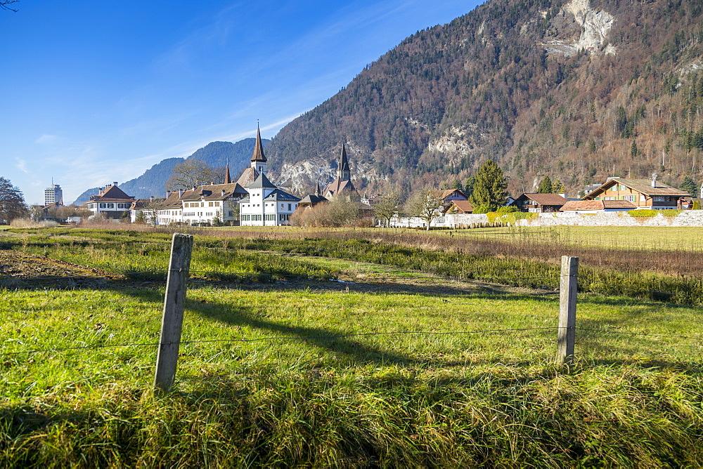 Interlaken, Jungfrau region, Bernese Oberland, Swiss Alps, Switzerland, Europe