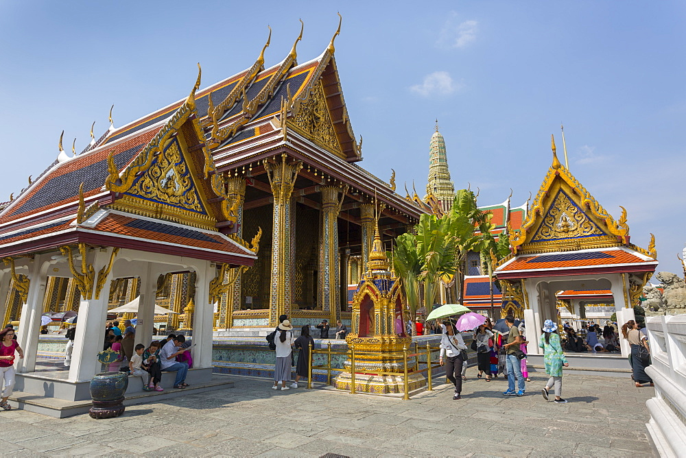 Grand Palace Complex, Bangkok, Thailand, Southeast Asia, Asia