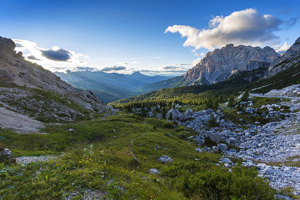 Valparola PassPasso di Valparola, Livinallongo del Col di Lana, Province of Belluno, Dolomites,Italy, Europe