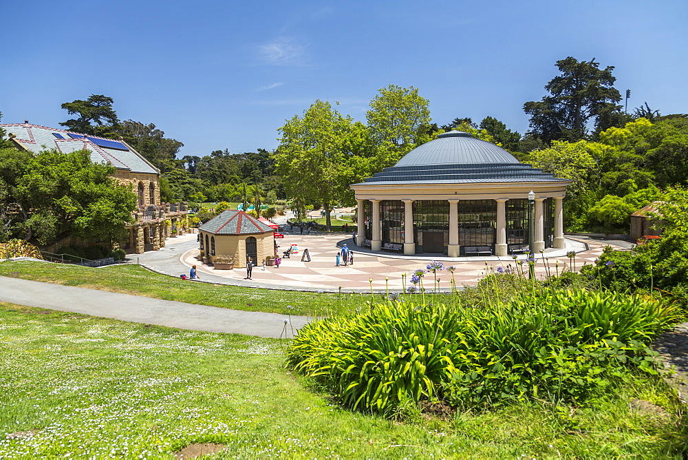 View of Carousel, Golden Gate Park, San Francisco, California, USA, North America - 844-16962