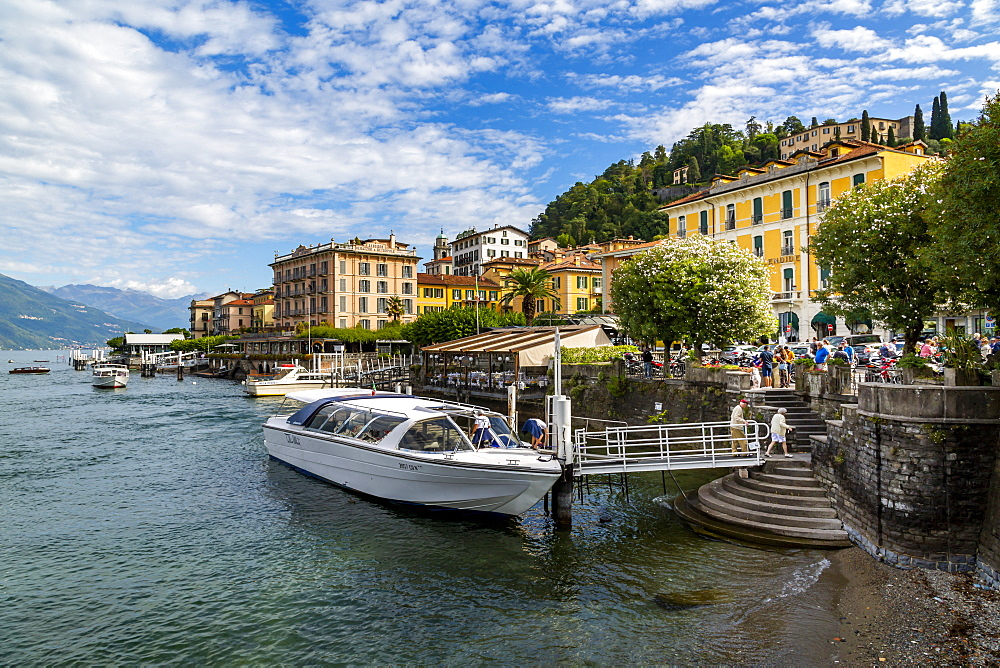 View of Lake Como and Bellagio, Province of Como, Lake Como, Lombardy, Italian Lakes, Italy, Europe