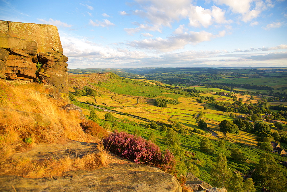 Curbar Edge, Derbyshire, England, United Kingdom, Europe