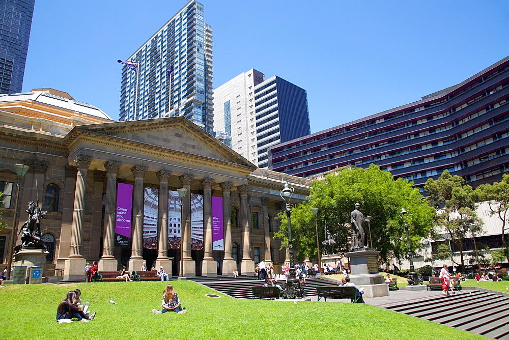 Victoria State Library, Melbourne, Victoria, Australia, Pacific