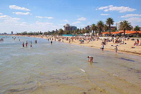 St. Kilda Beach, Melbourne, Victoria, Australia, Pacific