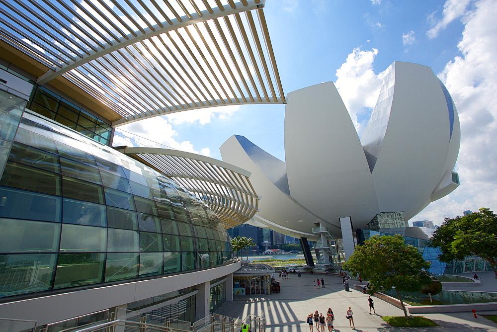 Marina Bay, Art Science Museum, Singapore, Southeast Asia - 844-7322