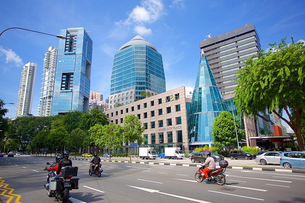 Wheelock Place on Scotts Road, Singapore, Southeast Asia