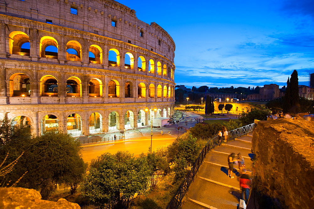 The Colosseum, UNESCO World Heritage Site, Rome, Lazio, Italy, Europe