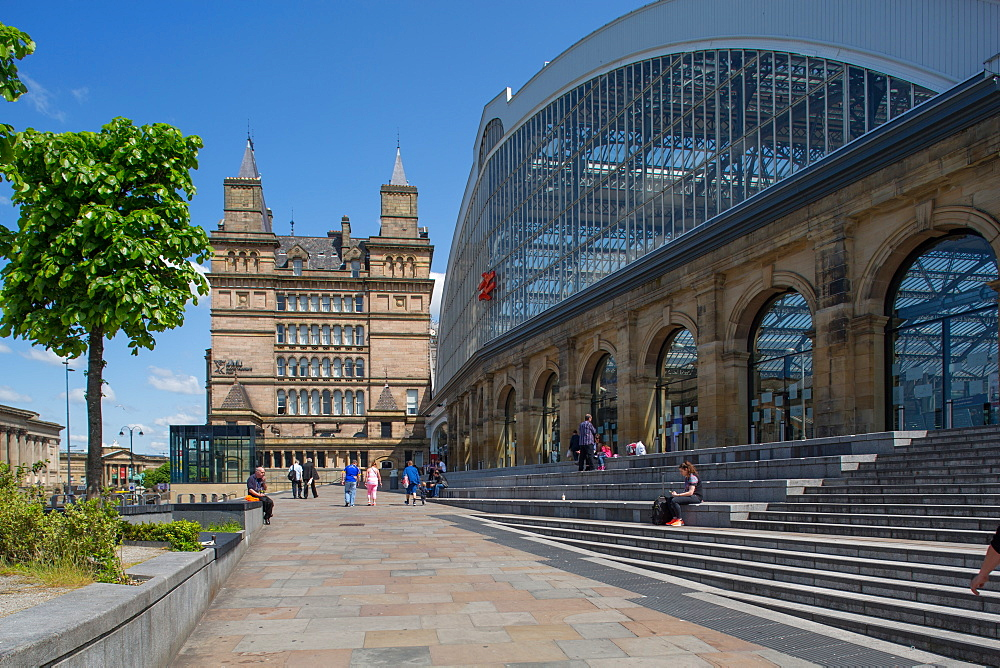 Liverpool Lime Street Railway Station, Liverpool, Merseyside, England, United Kingdom, Europe