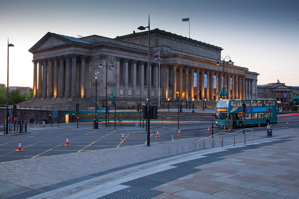 St. George's Hall, Liverpool, Merseyside, England, United Kingdom, Europe