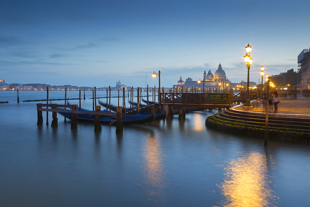 Basilica di Santa Maria della Salute on the Grand Canal, Venice, UNESCO World Heritage Site, Veneto, Italy, Europe
