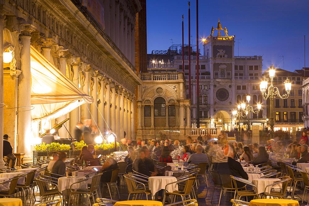 Piazza San Marco, Venice, UNESCO World Heritage Site, Veneto, Italy, Europe