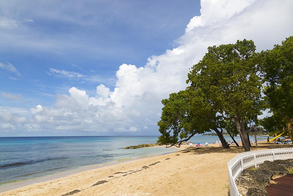 Beach near Speightstown, St Peter, Barbados, West Indies, Caribbean
