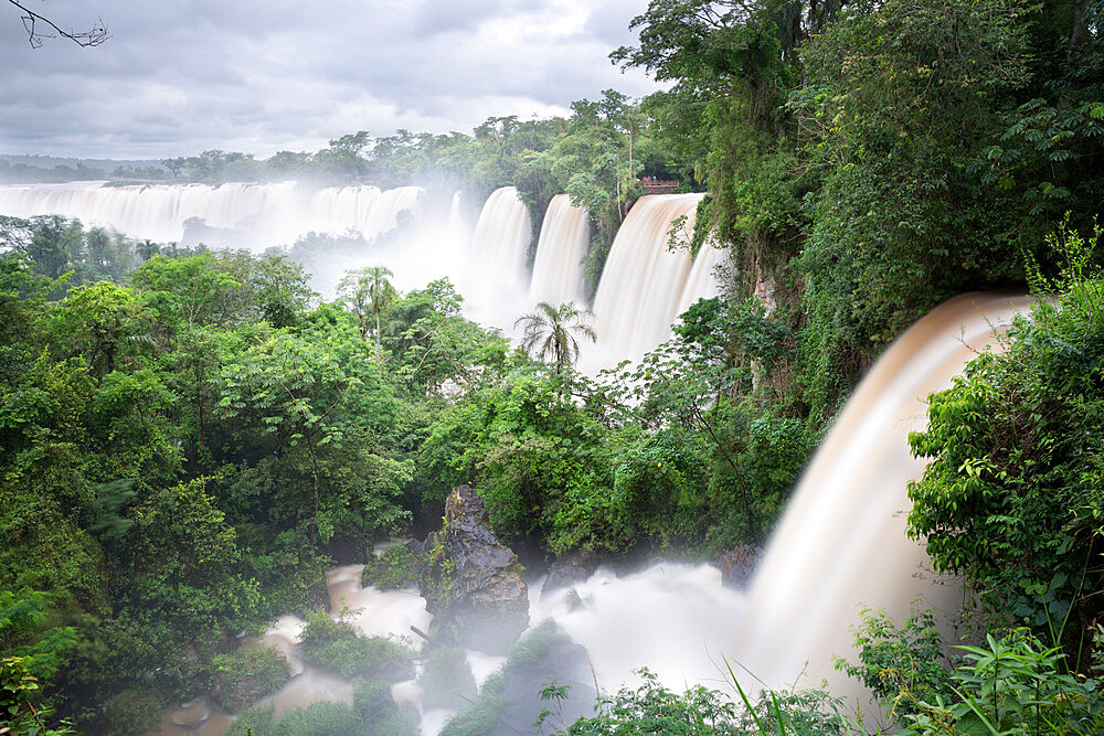 Iguazu Falls, Iguazu National Park, UNESCO World Heritage Site, Misiones Province, The Northeast, Argentina, South America - 846-2650