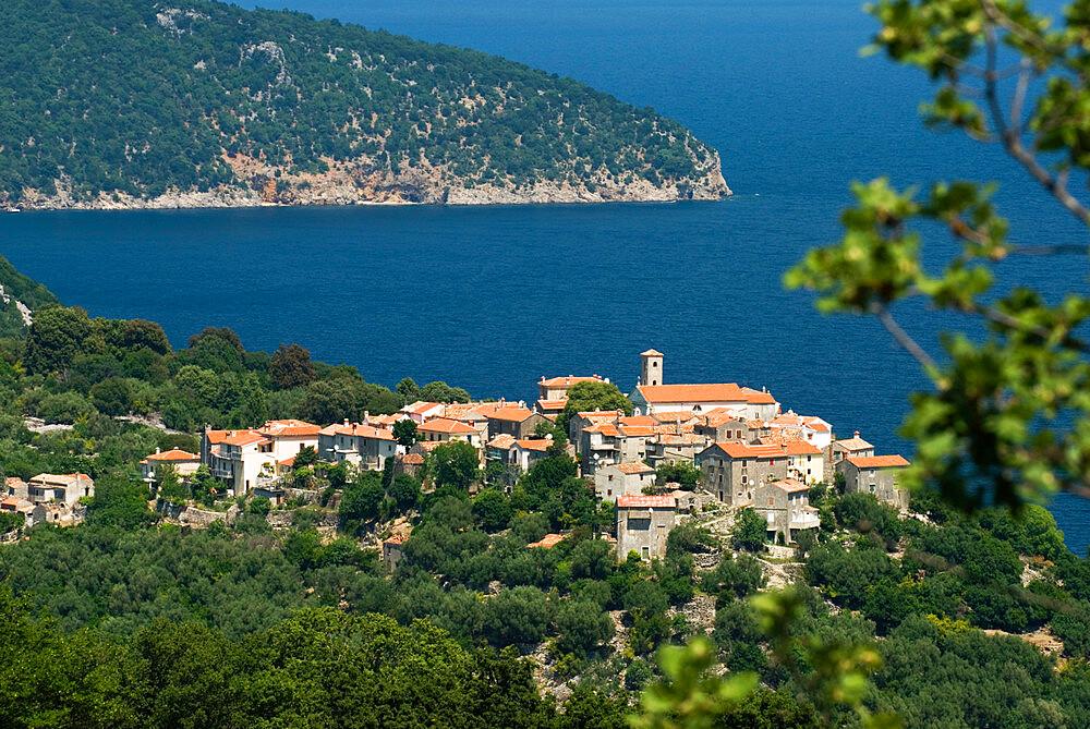 Beli village, Cres Island, Kvarner Gulf, Croatia, Adriatic, Europe - 846-616