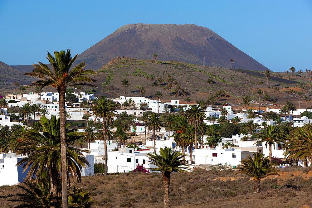 View over village, Haria, Lanzarote, Canary Islands, Spain - 846-922