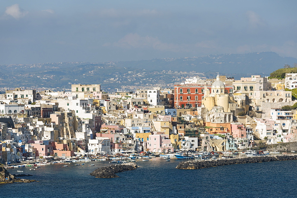 Island of Procida, Bay of Naples, Campania, Italy, Europe - 848-1291