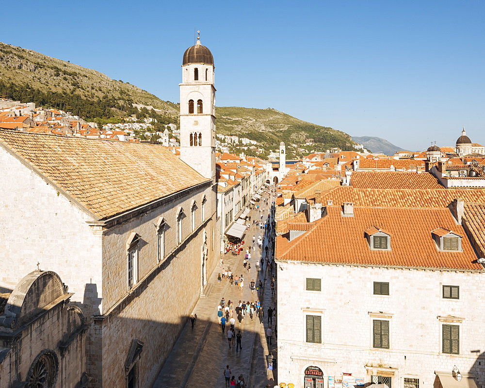 City Walls, UNESCO World Heritage Site, Dubrovnik, Croatia, Europe - 848-1368