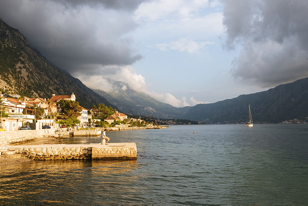Dobrota, Bay of Kotor, UNESCO World Heritage Site, Montenegro, Europe - 848-1383