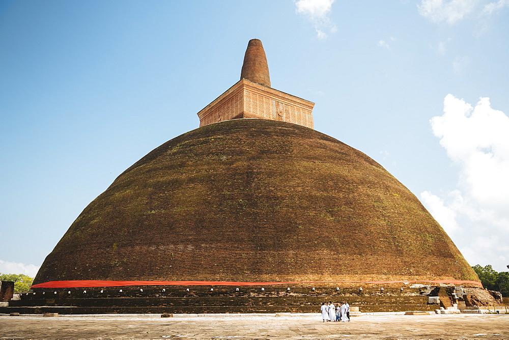 Abhayagiri Dagoba, Anuradhapura, North Central Province, Sri Lanka, Asia - 848-1747