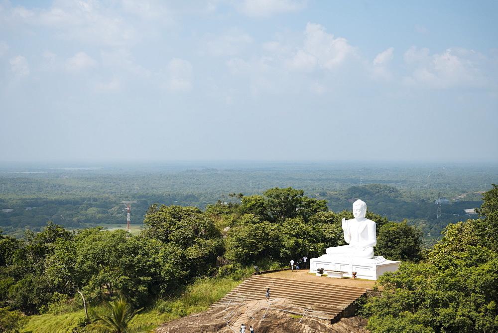 Buddha Statue, Mihintale, North Central Province, Sri Lanka, Asia - 848-1750