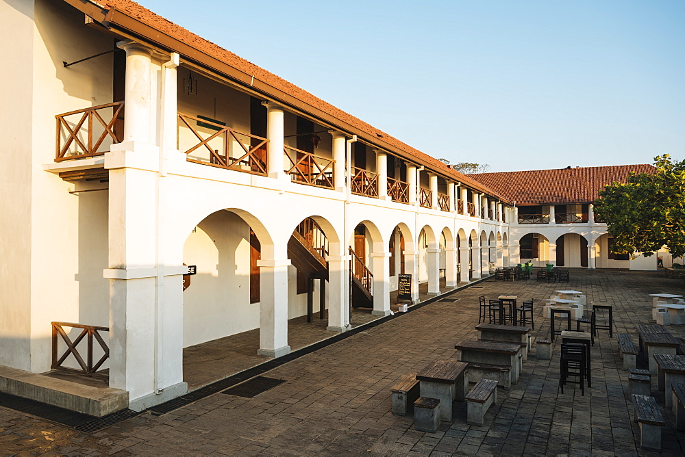 Dutch Hospital Building, Galle, South Coast, Sri Lanka, Asia
