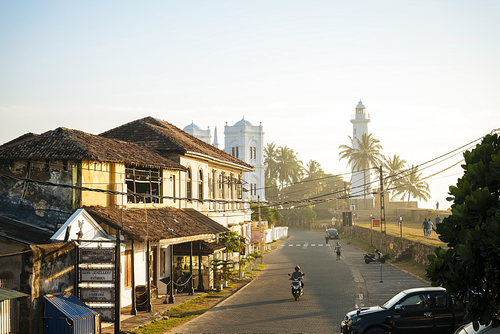 Galle, Old Town, UNESCO World Heritage Site, South Coast, Sri Lanka, Asia