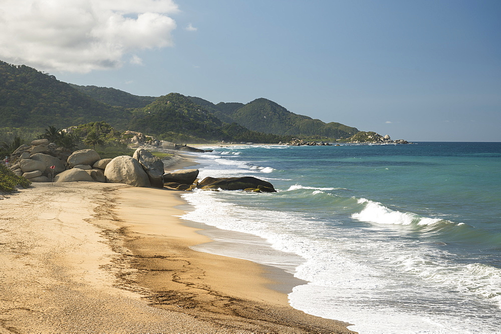 Tayrona National Park, Magdalena Department, Caribbean, Colombia, South America - 848-2135