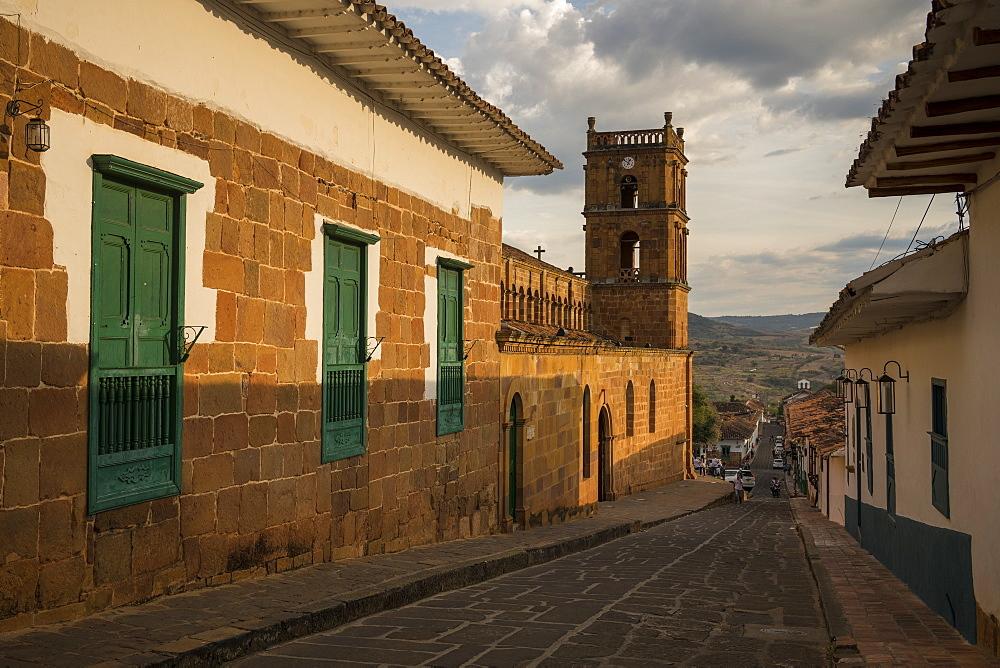 Cathedral of Barichara, Barichara, Santander, Colombia, South America - 848-2164