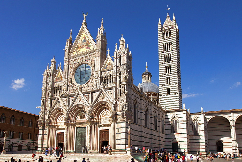Cathedral of Siena, Tuscany, Italy, Europe
