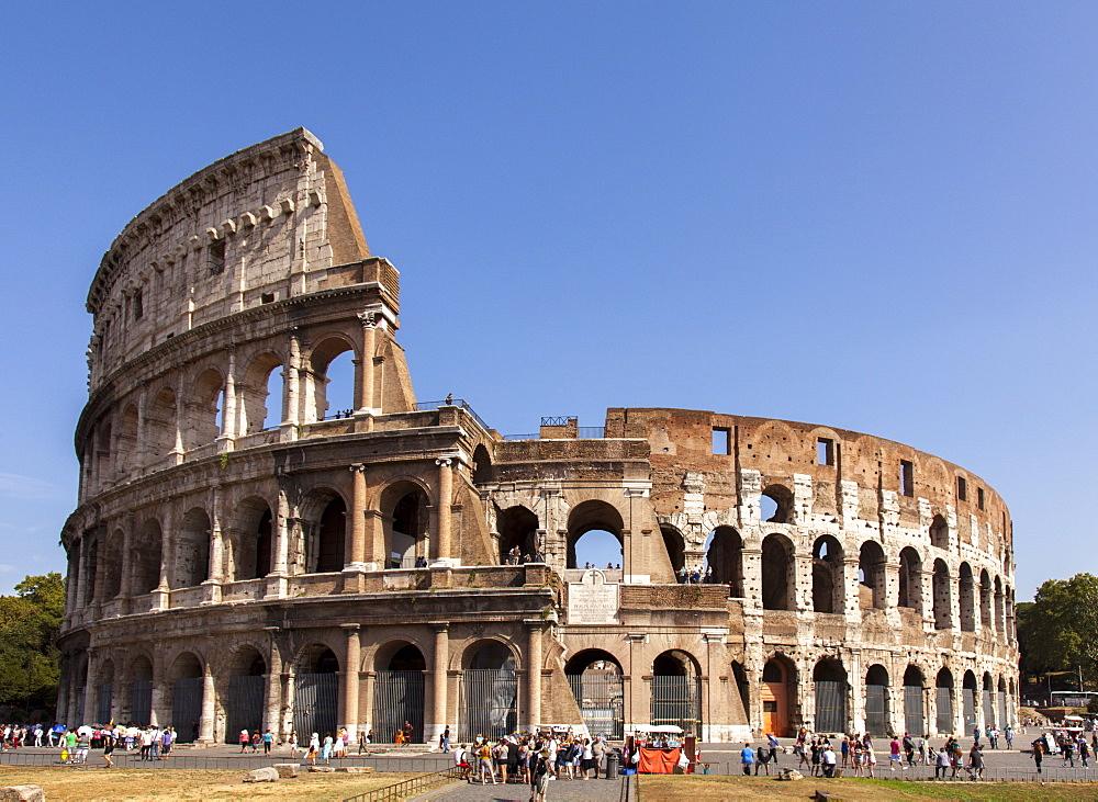 Colosseum, Rome, Lazio, Italy, Europe - 851-546